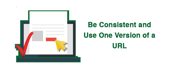Be Consistent. Use Either Slash Or No Slash After URL, Not Both