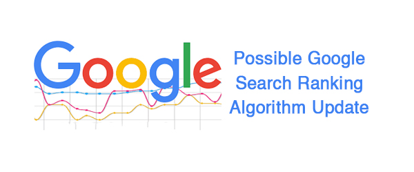 Google search ranking algorithm update