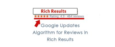 Google Updates Algorithm for Reviews in Rich Results