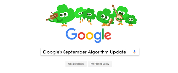 Google's September Algorithm Update